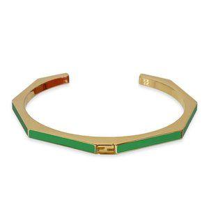 Fendi Emerald Bracelet